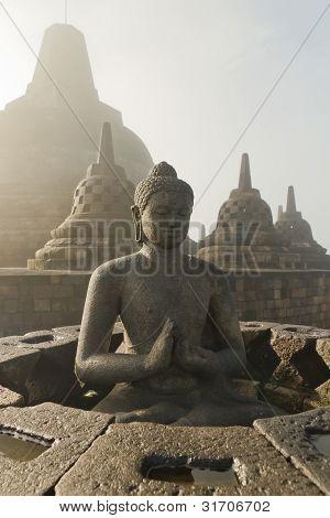 Borobudur Temple  Jogjakarta, Java, Indonesia