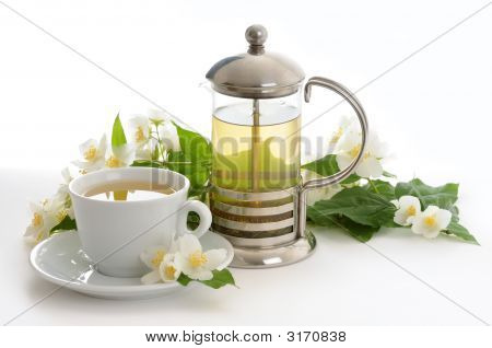 Still Life With Jasmine Tea
