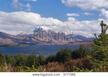 Slioch Over Loch