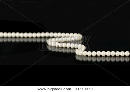 Pearls On Black