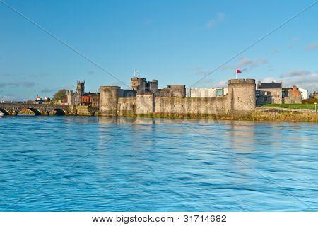 King John Castle in Limerick, Ireland