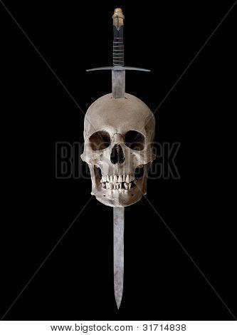 Broadsword And Skull