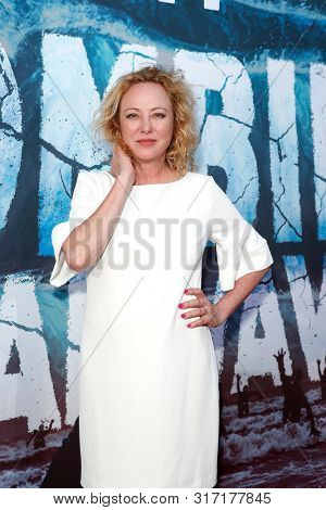 LOS ANGELES - AUG 12: Virginia Madsen at the Premiere Of SyFy's