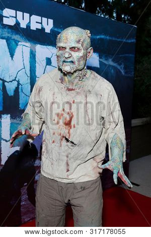 LOS ANGELES - AUG 12: Water Zombie at the Premiere Of SyFy's