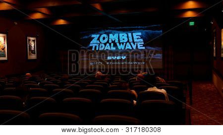 LOS ANGELES - AUG 12: General Atmosphere, Zombie Tidal Wave at the Premiere Of SyFy's