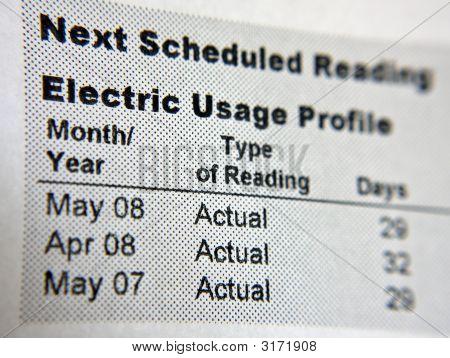 Electric Usage Profile