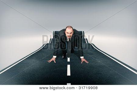 rolling asphalt carpet 3d image
