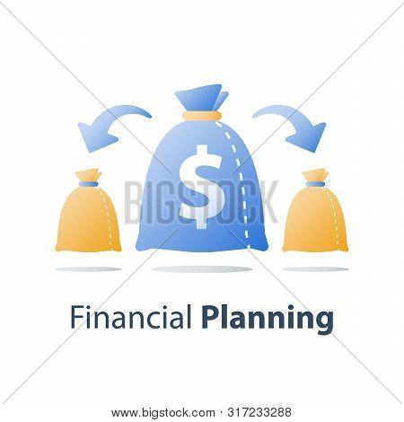 Finance Diversification, Fund Management, Return On Investment, Split Account, Asset Allocation, Fin