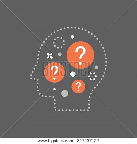 Decision Making, Difficult Choice, Moral Dilemma, Philosophy Thinker, Behavior Science, Brainstorm C