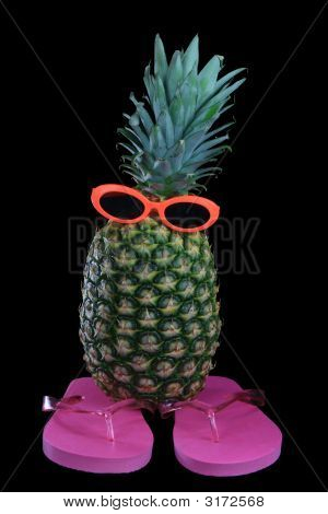 Pineapple Sunglasses Flipflops