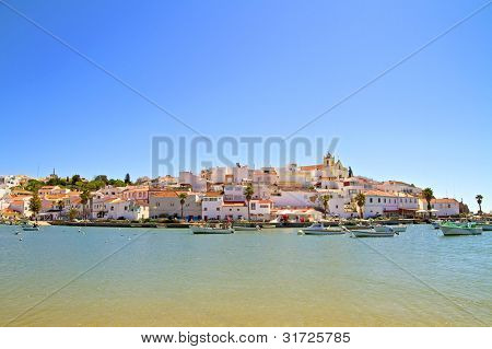 The village Ferragudo in the Algarve Portugal poster