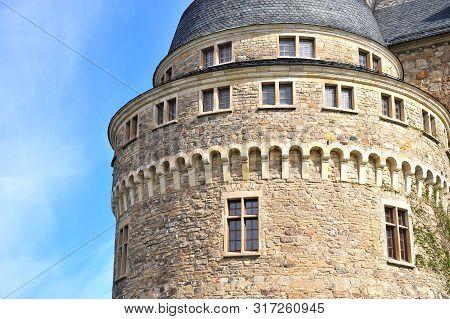 Details Of Erebro Castle Tower, Sweden