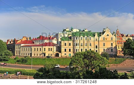Scenic View Of Vyborg Old Town, Russia
