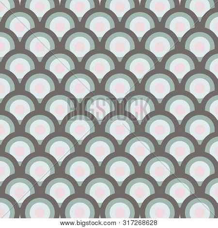 Shades Of Pattern With Drops. Seamless Pattern Drops On Background. Vector Drops. Drops Pattern For