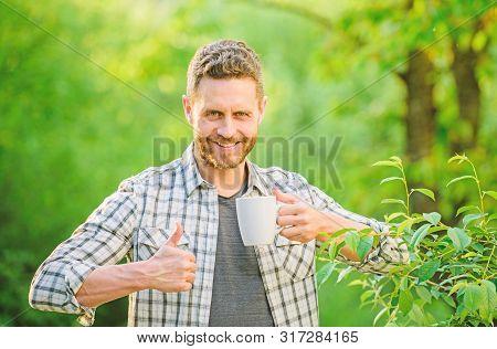 Excellent Taste. Enjoy Hot Beverage. Natural Drink. Healthy Lifestyle. I Prefer Green Tea. Refreshin