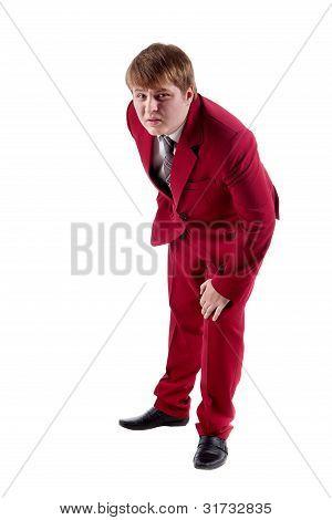 Malcontent Businessman