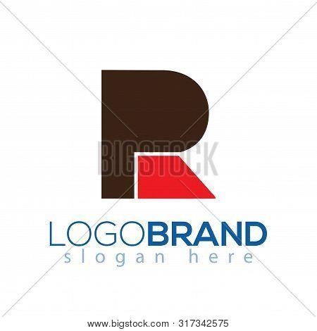 Pr Initial Letter Logo Vector Element. Pr Logo Template