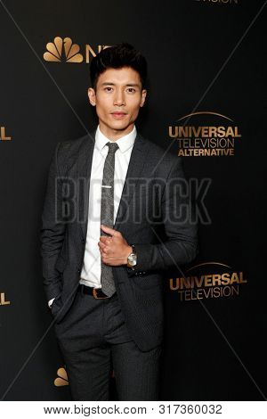 LOS ANGELES - AUG 13:  Manny Jacinto at the NBC And Universal EMMY Nominee Celebration at the Tesse Restaurant on August 13, 2019 in West Hollywood, CA