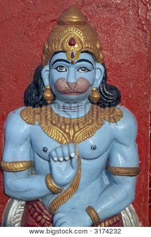 Hindu Monkey God