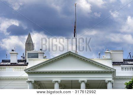 Presidential White House Pennsylvania Ave Washington Dc