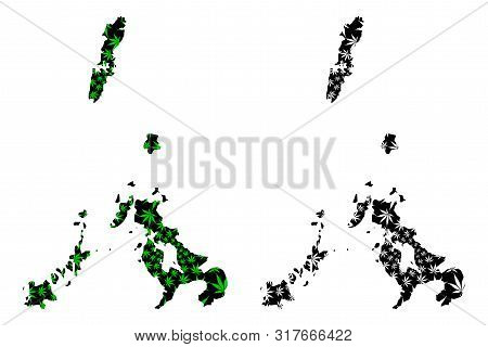 Nagasaki Prefecture (administrative Divisions Of Japan, Prefectures Of Japan) Map Is Designed Cannab