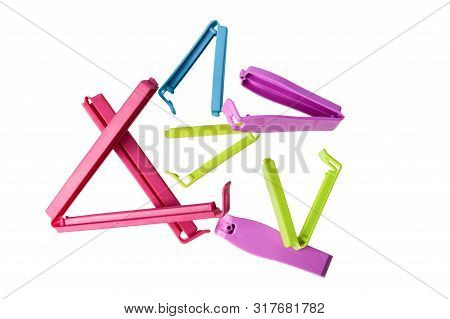 Clip For Plastic Bags In Different Colors And Sizes