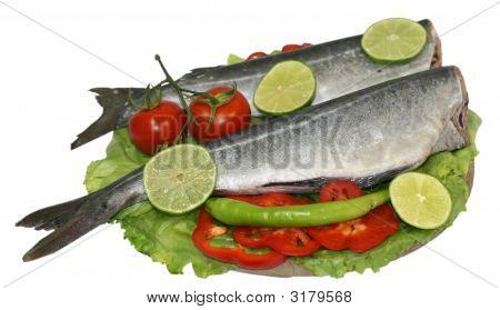 Raw Fish Food Plate