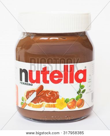 Alba - Aug 2019: Nutella Ferrero