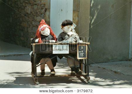 School Dummies,School Museum, Carcassonne
