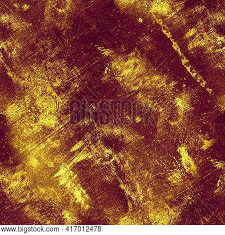 Retro Paint Dirty Texture. Rusty Distress Illustration. Old Stone Surface. Grunge Wall. Art Abstract