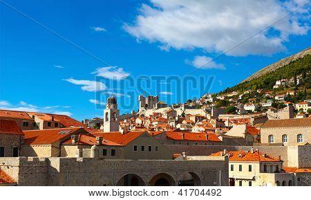 Beautiful Panorama Of Dubrovnik, Croatia