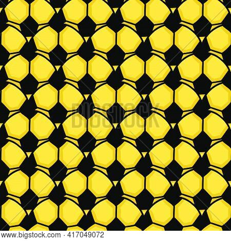 Surface Ball Soccer Seamless Pattern Textile Print. Great For Summer Vintage Fabric, Scrapbooking, W