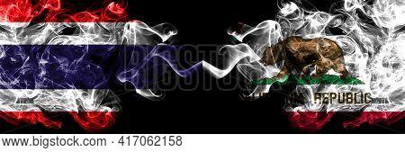 Thailand, Thai Vs United States Of America, America, Us, Usa, American, California, Californian Smok
