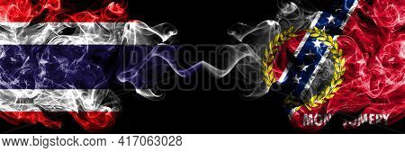 Thailand, Thai Vs United States Of America, America, Us, Usa, American, Montgomery, Alabama Smoky My