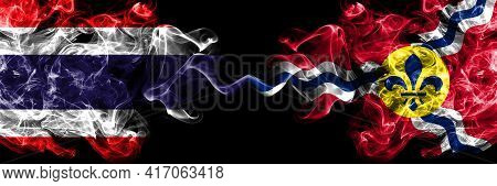 Thailand, Thai Vs United States Of America, America, Us, Usa, American, Saint Louis, Missouri Smoky