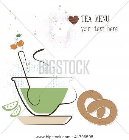 Tea menu