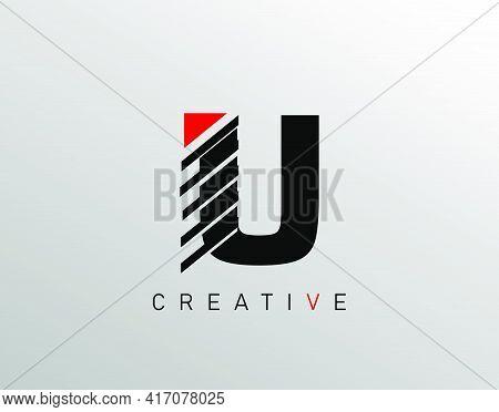 Creative Modern Letter U Logo, Monogram U Logo Icon.