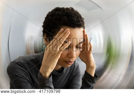 Bppv Head Pain And Vertigo Dizziness. Brain Stroke