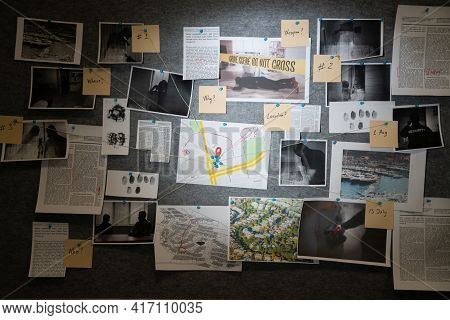 Police Investigation Board And Crime Victim Information