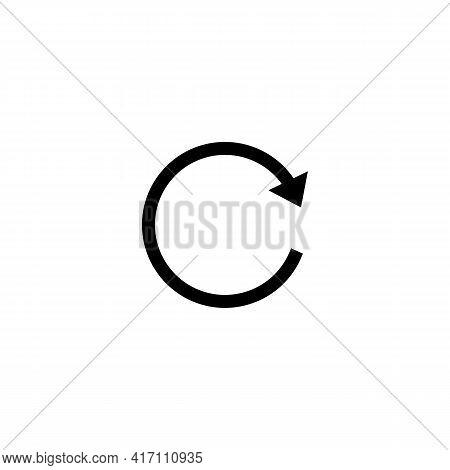 Illustration Vector Design Graphic Of Reload Icon