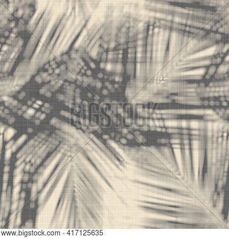 Seamless Abstract Print Of Botanical Leaf Shadows
