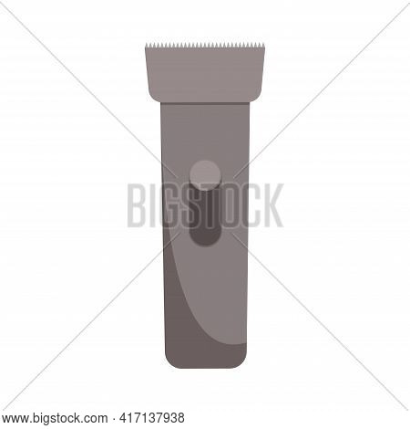 An Electric Machine For Cutting Hair. Vector Illustration