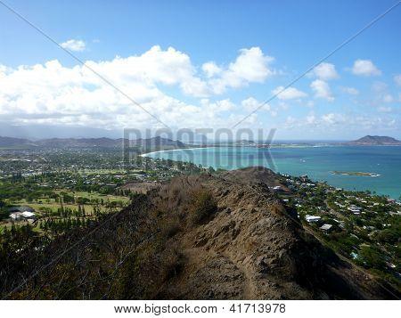 Trail Leading To Kailua, O'ahu, Hawai'i