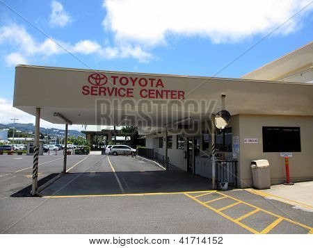 Toyota Service Center