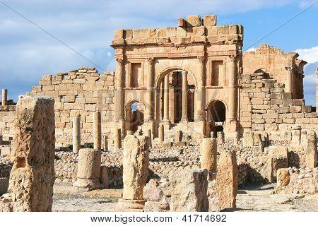 Roman ruins of Sufetula, Tunisia