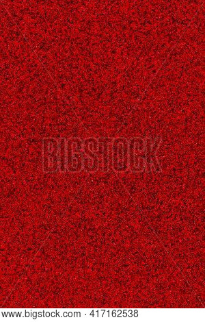 Red Glitter Textured Paper Background For Stationary Or Texture For Text