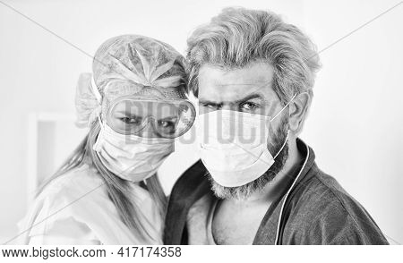 Pandemic. Self Isolation. Hygiene Concept. Avoid Contact With Other People. Virus Transmitted By Dro