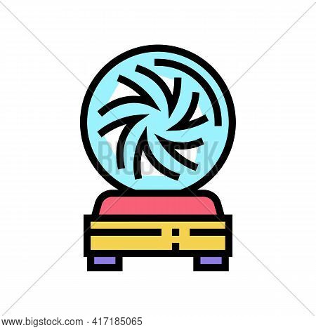Ball Astrological Color Icon Vector. Ball Astrological Sign. Isolated Symbol Illustration
