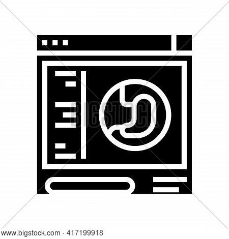 Inspection Bariatric Line Icon Vector. Inspection Bariatric Sign. Isolated Contour Symbol Black Illu