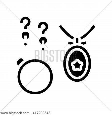 Bijouterie Jewellery Line Icon Vector. Bijouterie Jewellery Sign. Isolated Contour Symbol Black Illu